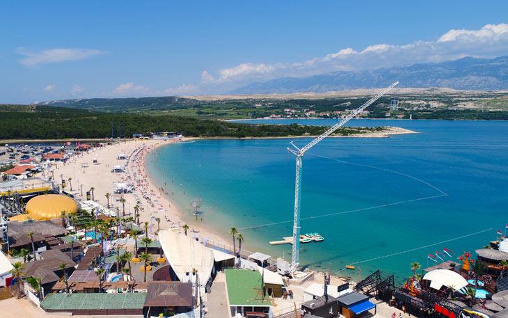 Spiaggia di Zrće