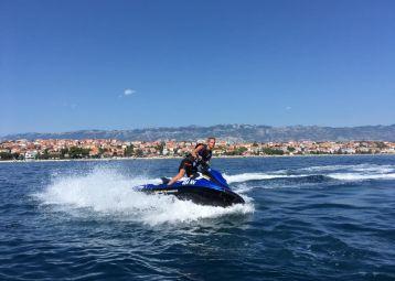 Jet Ski and Flyboard Novalja