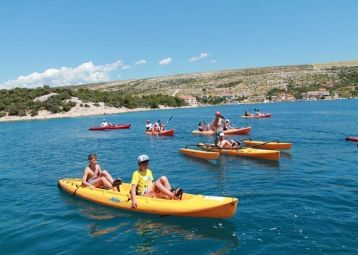 Kayaks, Trimarans and Stand Up Paddling - Camping Village Simuni